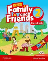 Family and Friends: Level 2: Class Book with Student MultiROM 2nd Revised edition, Level 2