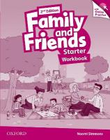 Family and Friends: Starter: Workbook with Online Practice 2nd Revised edition