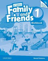 Family and Friends: Level 1: Workbook with Online Practice 2nd Revised edition, Level 1