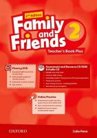 Family and Friends: Level 2: Teacher's Book Plus 2nd Revised edition, Level 2