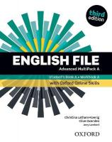 English File: Advanced: Student's Book/Workbook MultiPack A with Oxford   Online Skills 3rd Revised edition