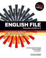 English File: Elementary: Student's Book/Workbook MultiPack B with Oxford   Online Skills 3rd Revised edition