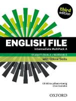English File: Intermediate: Student's Book/Workbook MultiPack A with Oxford   Online Skills 3rd Revised edition