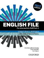 English File: Pre-Intermediate: Student's Book/Workbook MultiPack A with   Oxford Online Skills 3rd Revised edition