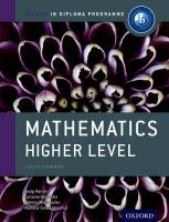 Oxford IB Diploma Programme: Mathematics Higher Level Course Companion: For the Ib Diploma