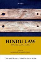 Oxford History of Hinduism: Hindu Law: A New History of Dharmasastra