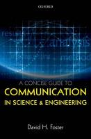 Concise Guide to Communication in Science and Engineering