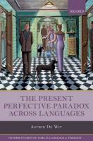 Present Perfective Paradox across Languages