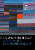 Oxford Handbook of Comparative Environmental Law
