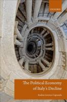 Political Economy of Italy's Decline