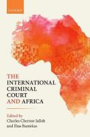 International Criminal Court and Africa