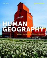 Human Geography 9th Revised edition