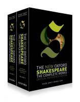 New Oxford Shakespeare: Critical Reference Edition: The Complete Works Critical Reference Edition