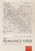 Romance Verb: Morphomic Structure and Diachrony