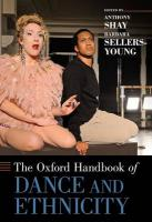 Oxford Handbook of Dance and Ethnicity
