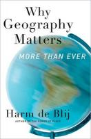 Why Geography Matters: More Than Ever