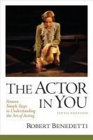 Actor in You: Sixteen Simple Steps to Understanding the Art of Acting 5th Revised edition