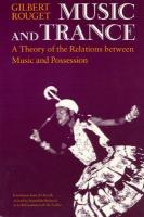 Music and Trance: A Theory of the Relations Between Music and Possession