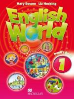 English World 1 Pupil's Book: Student Book