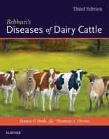 Rebhun's Diseases of Dairy Cattle 3rd Revised edition