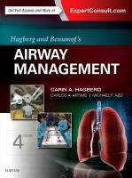 Hagberg and Benumof's Airway Management 4th Revised edition