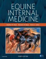 Equine Internal Medicine 4th Revised edition