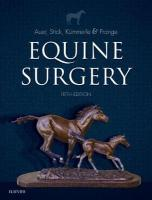 Equine Surgery 5th Revised edition
