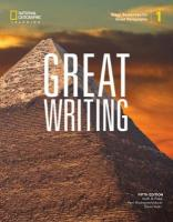Great Writing 1: Great Sentences for Great Paragraphs 5th edition
