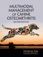 Multimodal Management of Canine Osteoarthritis 2nd New edition