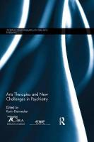 Arts Therapies and New Challenges in Psychiatry