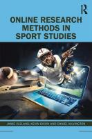 Online Research Methods in Sport Studies