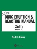 Litt's Drug Eruption & Reaction Manual 26th New edition