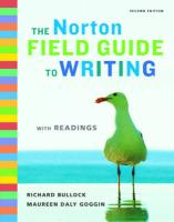 Norton Field Guide to Writing with Readings 2nd