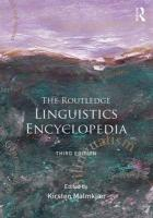 Routledge Linguistics Encyclopedia 3rd New edition