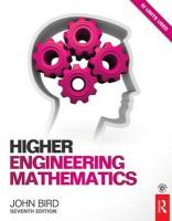 Higher Engineering Mathematics, 7th ed 7th New edition