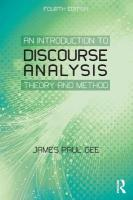 Introduction to Discourse Analysis: Theory and Method 4th New edition
