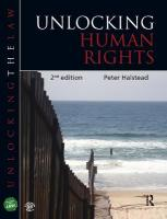 Unlocking Human Rights 2nd New edition