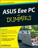 ASUS Eee PC For Dummies illustrated edition