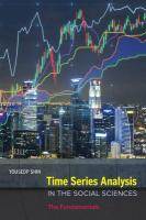 Time Series Analysis in the Social Sciences: The Fundamentals