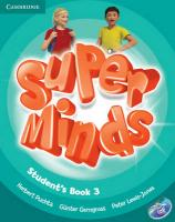 Super Minds Level 3 Student's Book with DVD-ROM Student edition