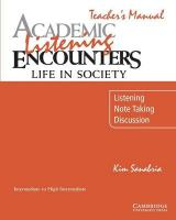 Academic Listening Encounters: Life in Society Teacher's Manual: Listening, Note Taking, and Discussion Teacher's edition