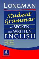 Longman's Student Grammar of Spoken and Written English Paper illustrated edition