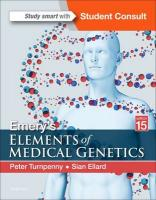 Emery's Elements of Medical Genetics 15th Revised edition