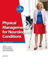 Physical Management for Neurological Conditions 4th Revised edition