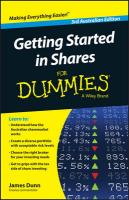 Getting Started in Shares For Dummies Australia 3rd Australian Edition