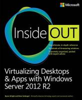 Virtualizing Desktops & Apps with Windows Server 2012 R2