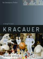 Siegfried Kracauer: An Intellectual Biography
