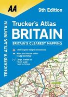 AA Trucker's Atlas Britain 9th Revised edition