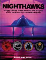 Nighthawks: Insider's Guide to the Heraldry and Insignia of the Lockheed F-117A Stealth   Fighter