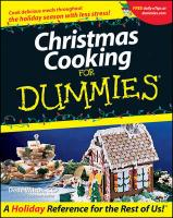 Christmas Cooking For Dummies illustrated edition